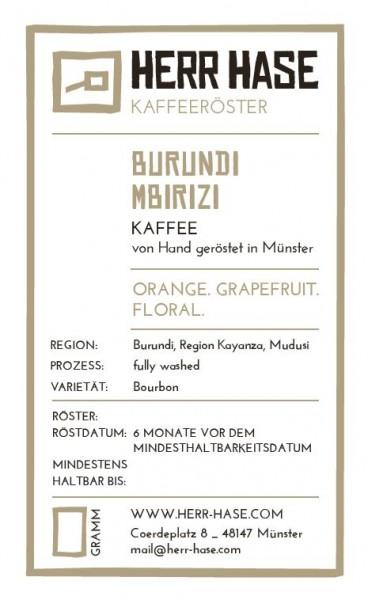 Burundi Mbirizi