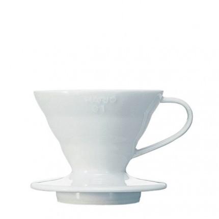 Hario Coffee Dripper V60 01 Ceramic weiß