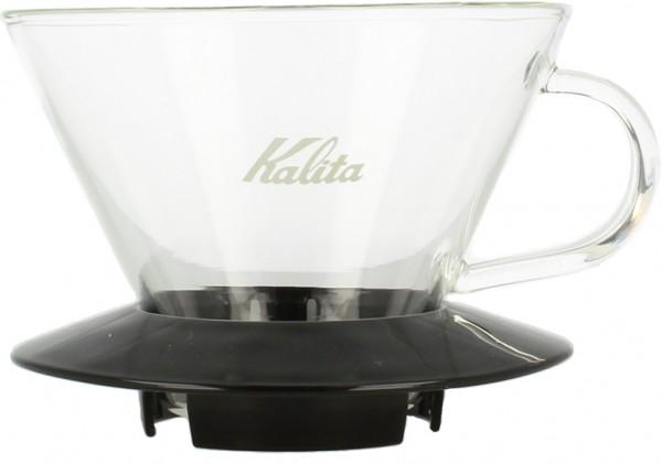 Kalita Wave 185 Glass Dripper schwarz